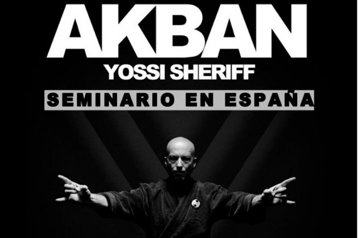 AKBAN NINJUTSU: Yossi Sheriff seminario en Madrid