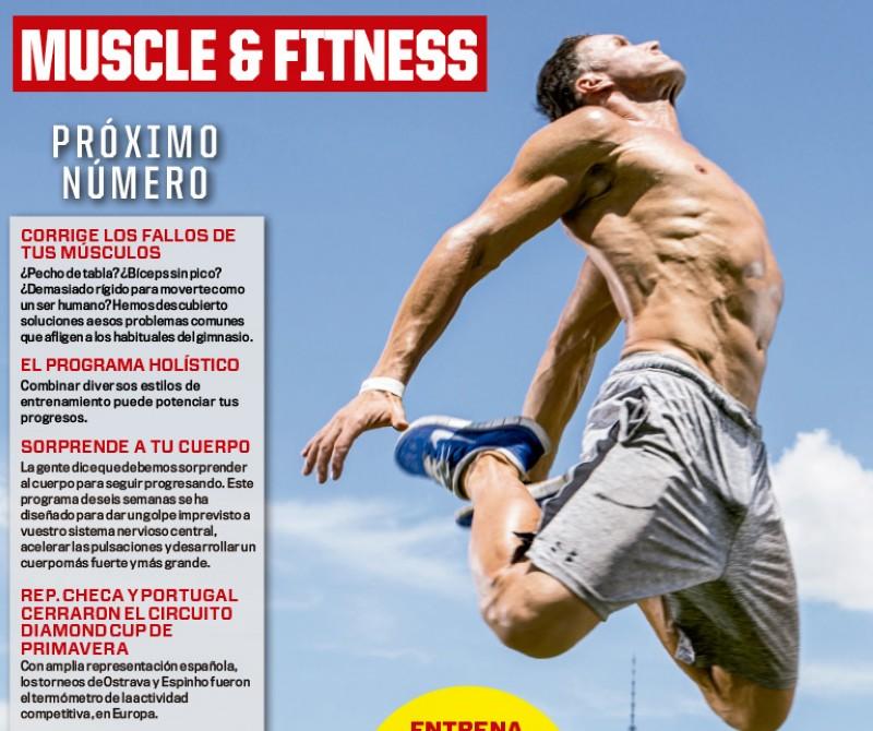 Avance de la próxima Muscle&Fitness