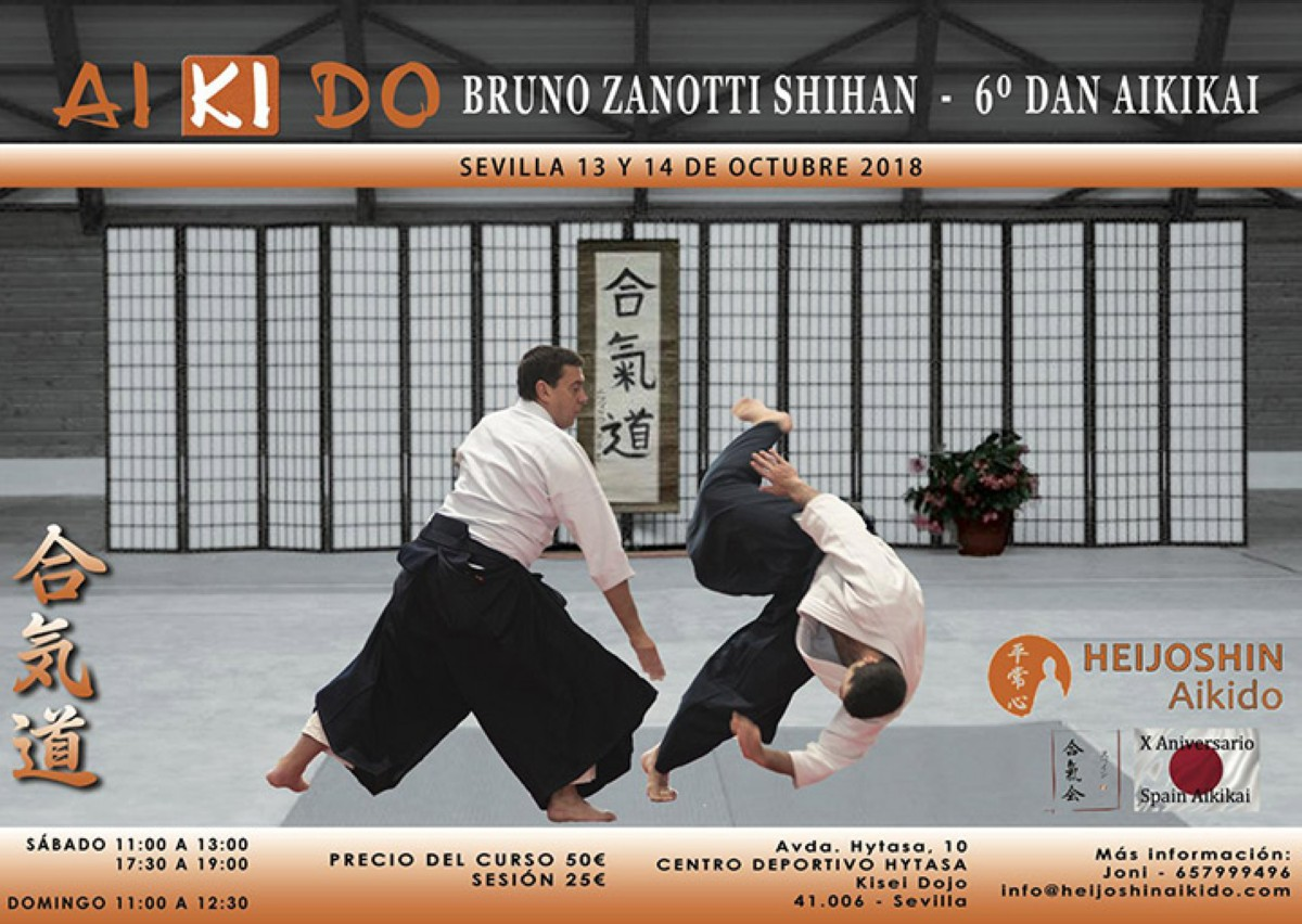Bruno Zanotti Shihan en Sevilla
