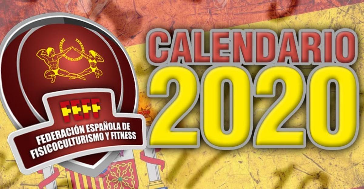 Calendario Anual de Competiciones FEFF 2020