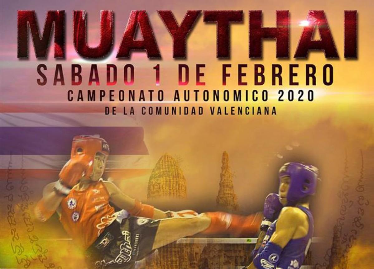 Campeonato de la Comunicad Valenciana de Muay Thai