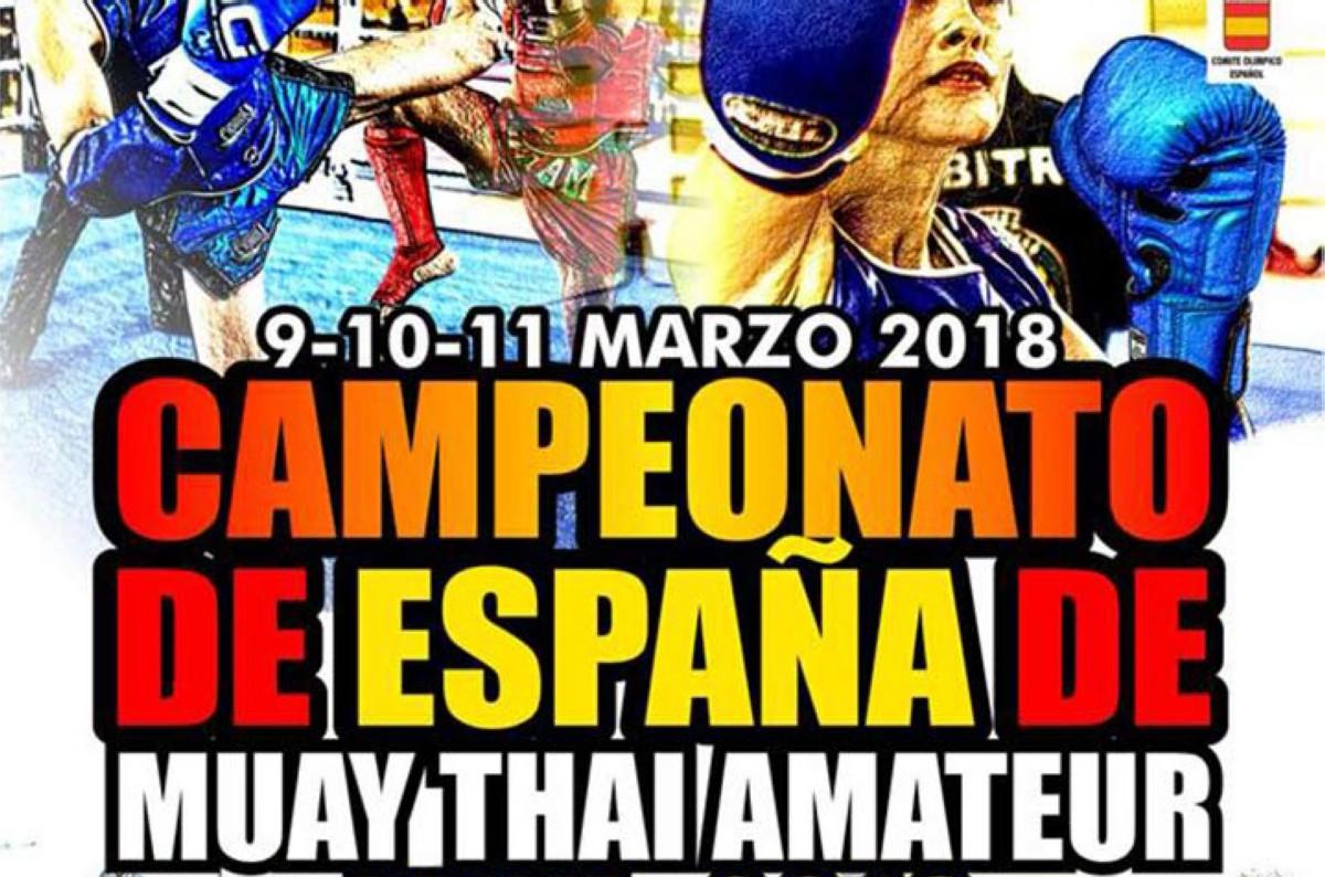 Campeonato de España de Muay-Thai amateur FEKM