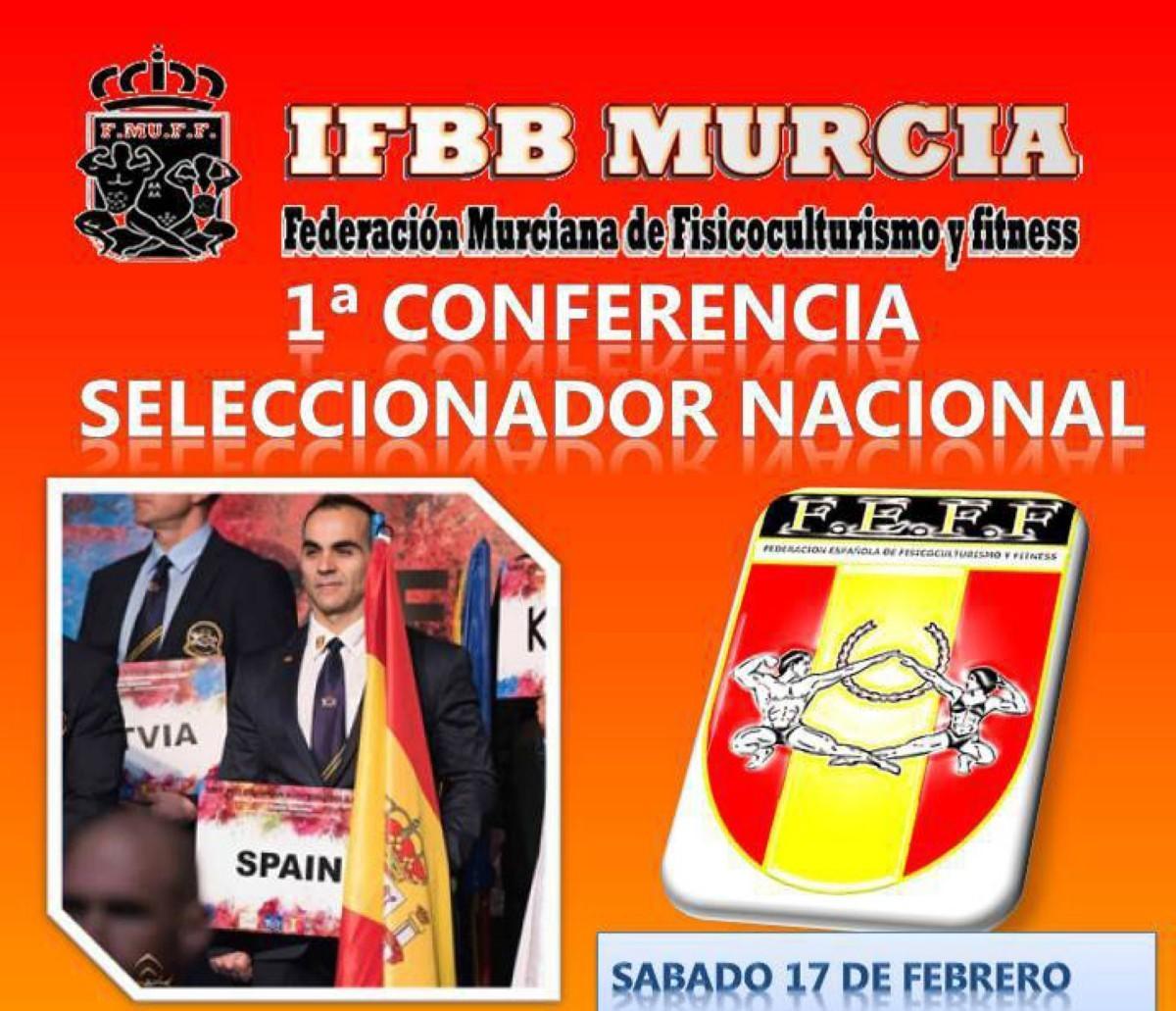 Conferencia Seleccionador Nacional en Murcia