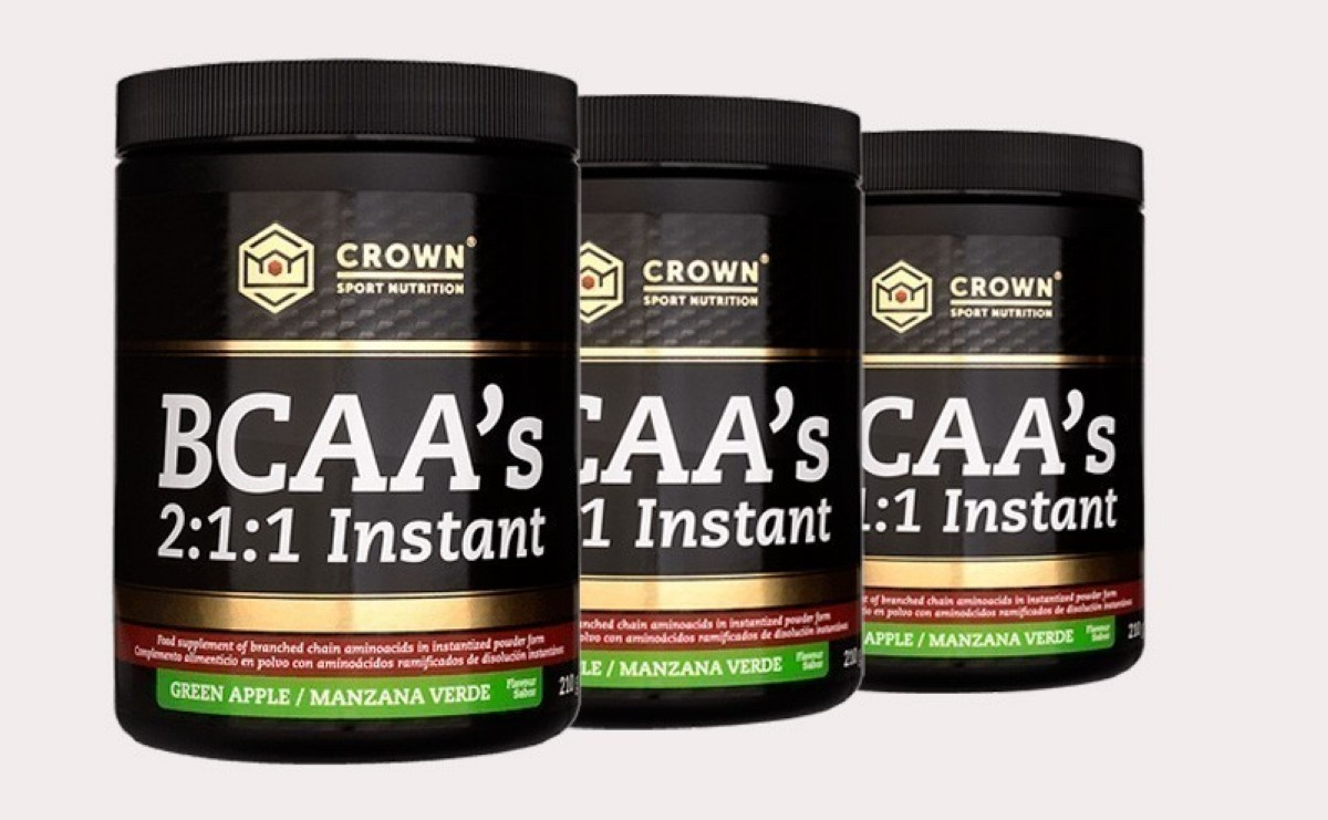 Crown Sport Nutrition lanza sus BCAA con disolución instantánea