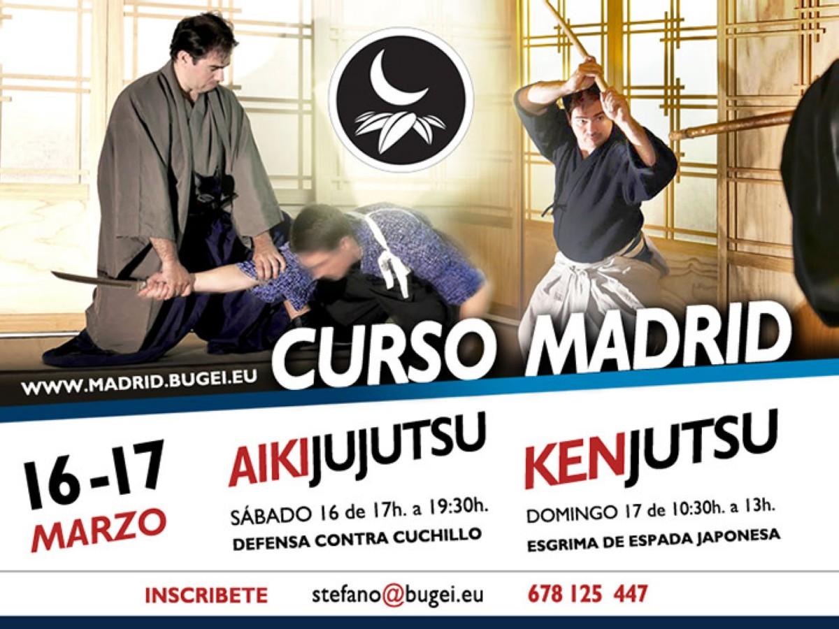 Curso de Aikijujutsu y Kenjutsu en Madrid