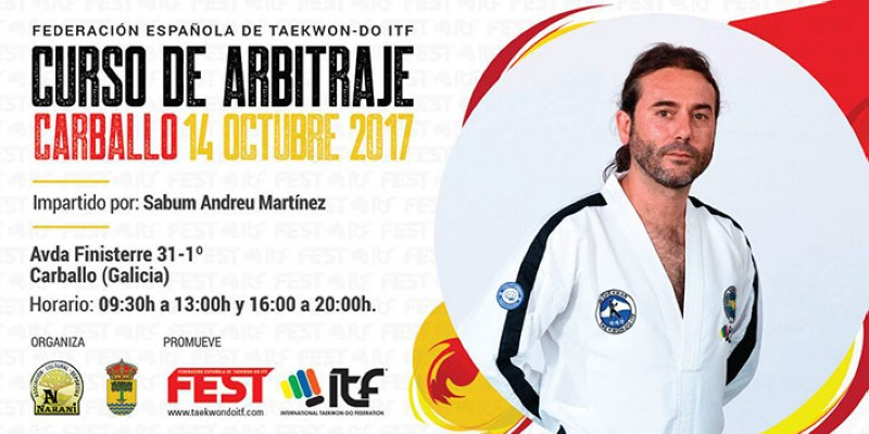 Curso de arbitraje de Taekwon-Do ITF