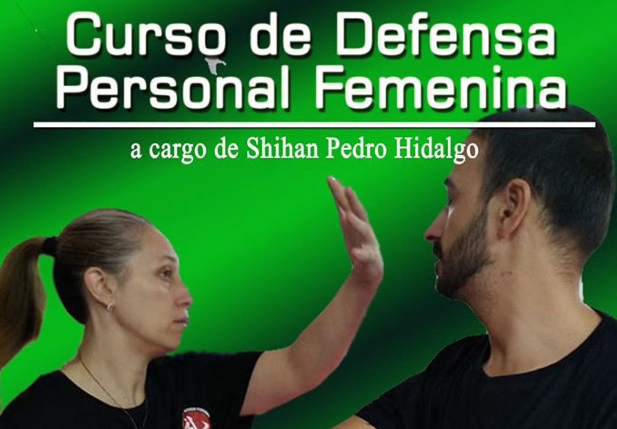 Curso de defensa personal femenina el 14 de diciembre