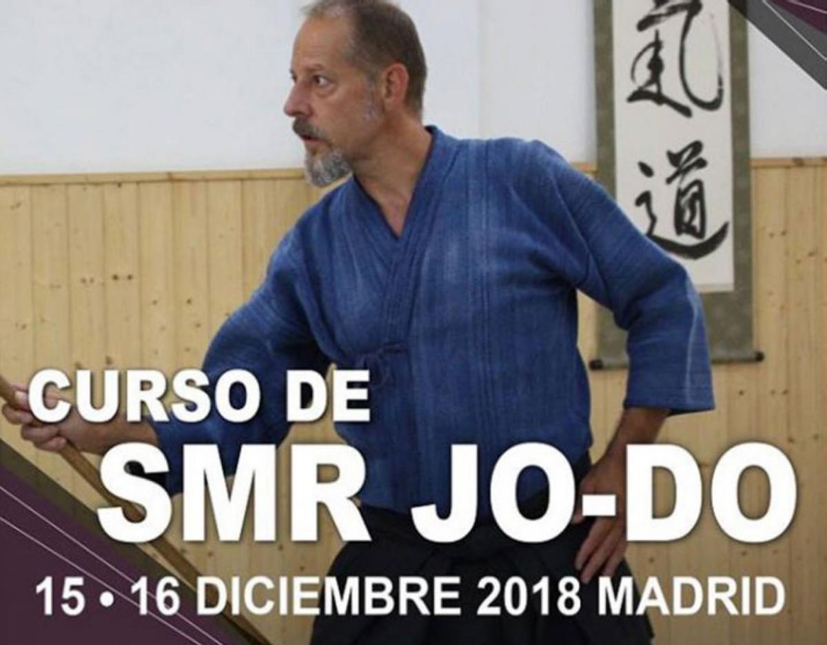 Curso de Jo-Do en Madrid con Vicente Borondo sensei (Menkyo Kaiden)