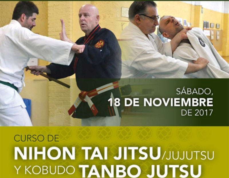 Curso Nihon Tai-Jitsu y Tanbo Jutsu en Tarragona