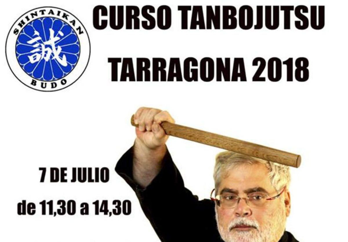 Curso de Tanbo-jutsu en Tarragona