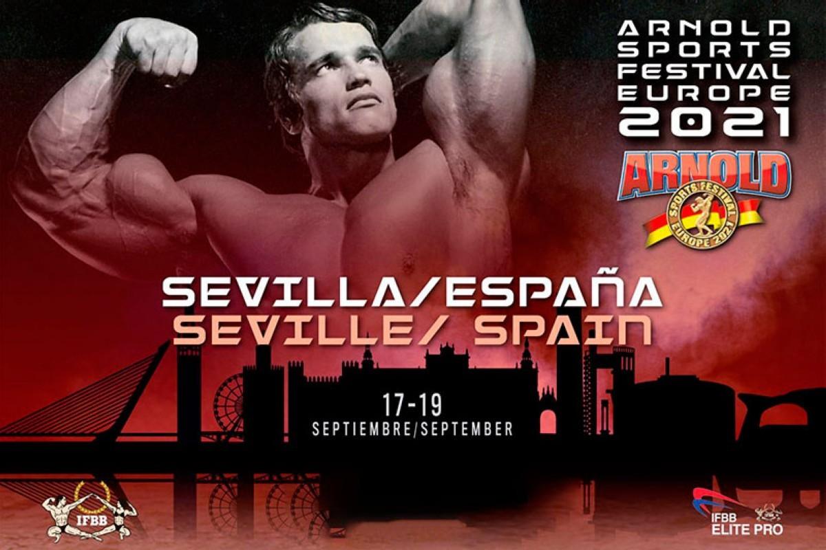 El Arnold Sports Festival Europe 2021 en Sevilla