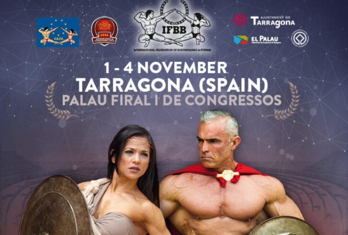 El IFBB Amateur World Cup 2019 de Tarragona