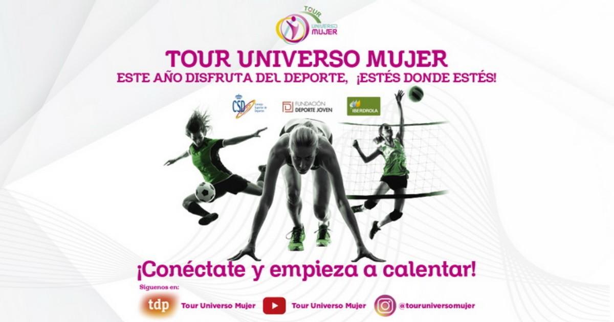 El nuevo Tour Universo Mujer:retos, entrenamientos, foro, exhibiciones