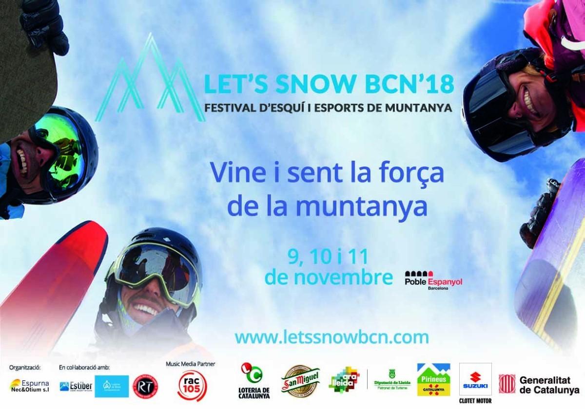 Festival de Sky y deportes de Montaña en Barcelona