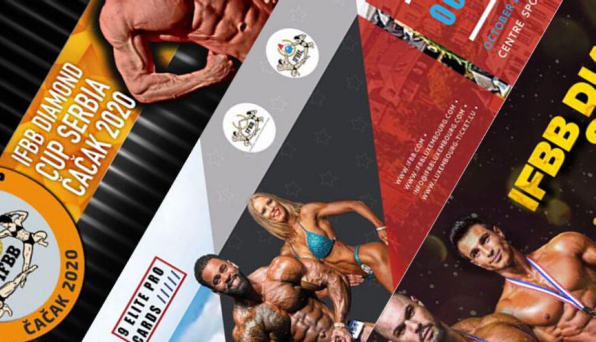 Habilitadas inscripciones a próximos internacionales IFBB