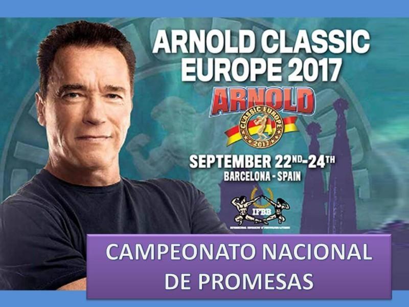 I Campeonato Nacional Promesas ACE 2017