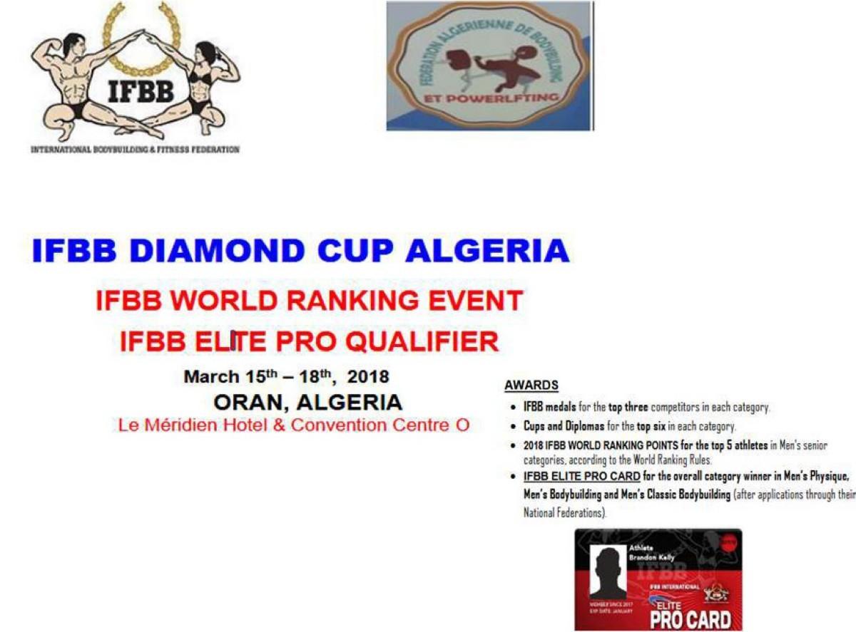 IFBB Diamond Cup Argelia
