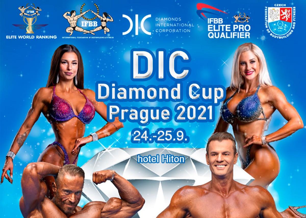 Inscripción al IFBB D.I.C DIAMOND CUP PRAGUE 2021
