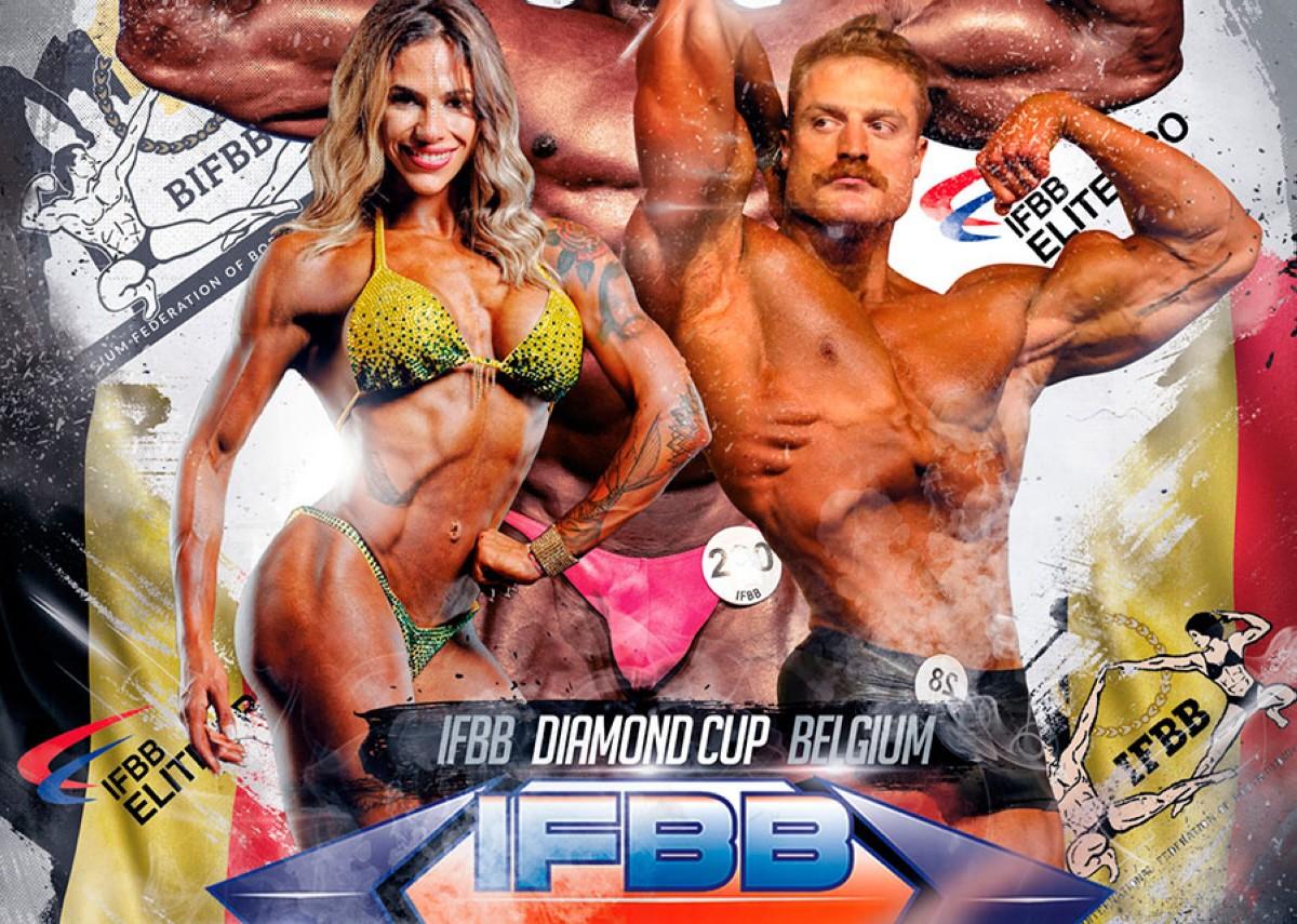 Inscripción a IFBB DIAMOND Cup Belgium