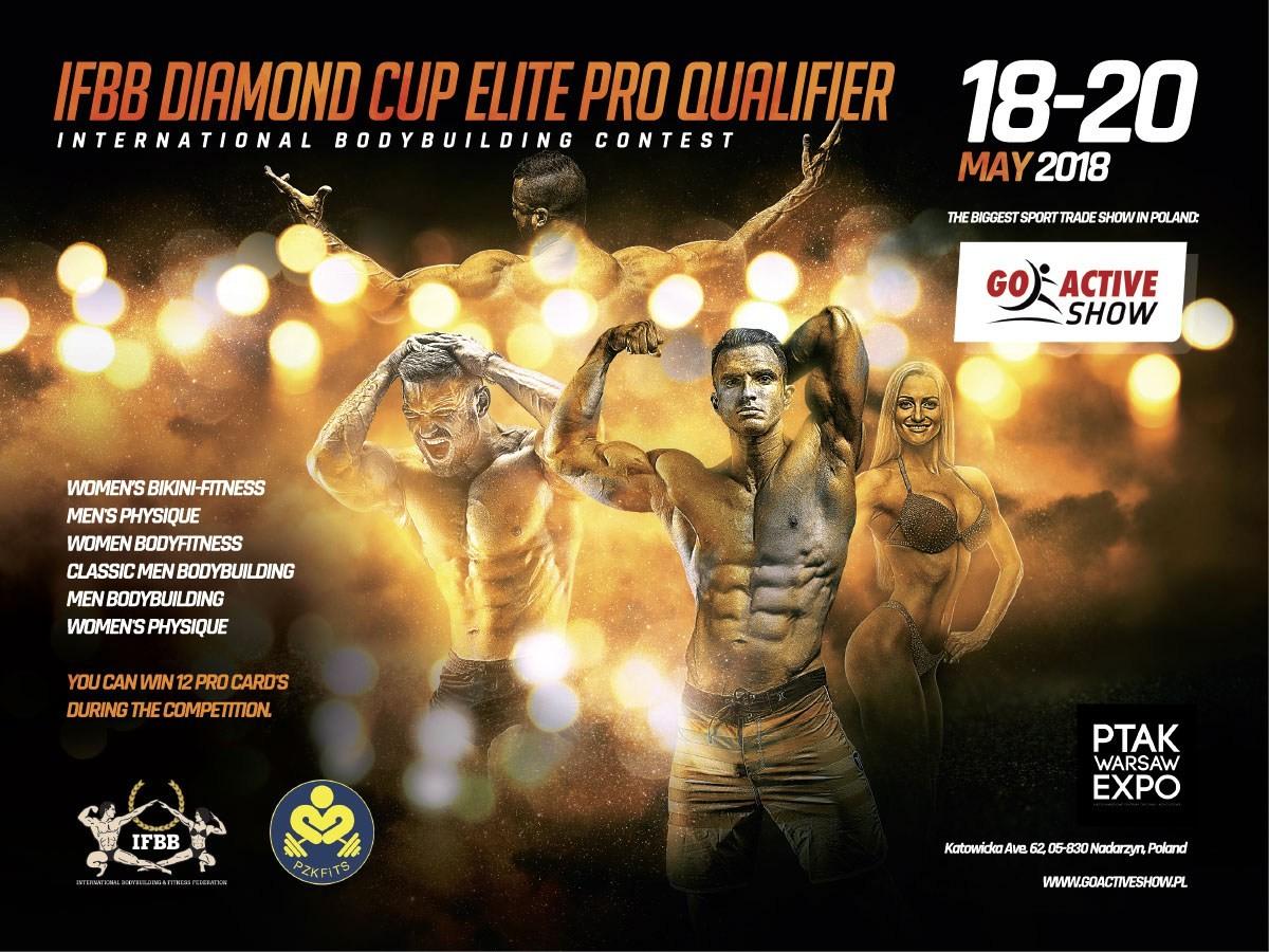 Inscripción a IFBB Diamond Cup Polonia
