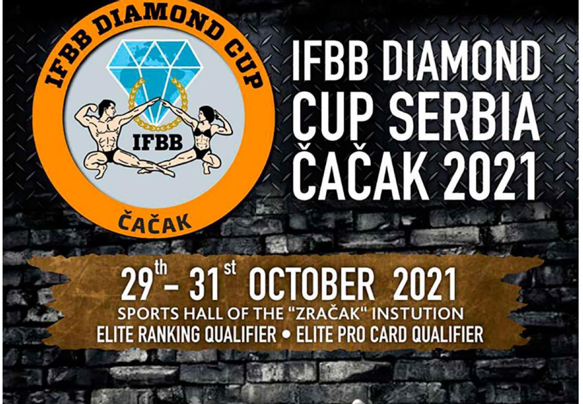 Inscripción a IFBB DIAMOND Cup Serbia