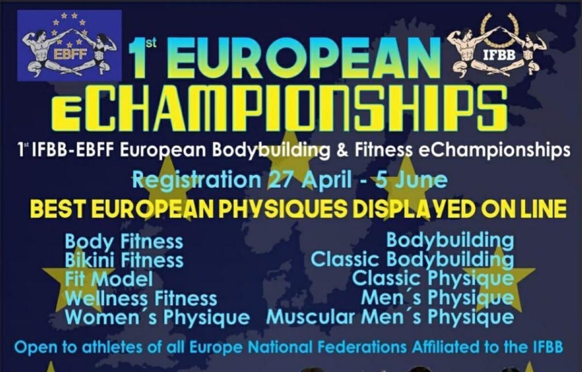 Inscripciones para el 1º Euroepan e-Champìonships