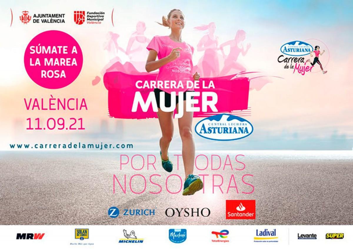 Inscripciones abiertas para la Carrera de la mujer de Valencia