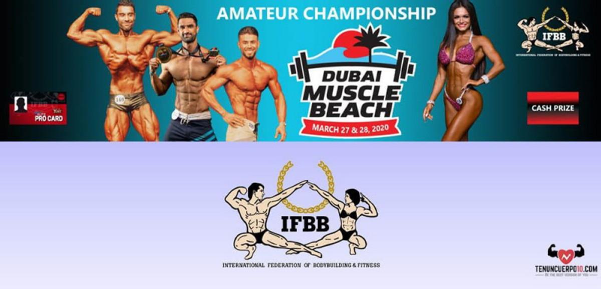 Inscripciones abiertas para el Dubai Muscle Beach