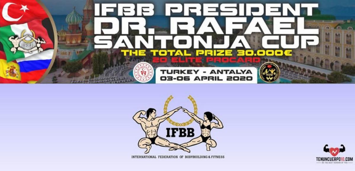 Inscripciones abiertas para el IFBB President Santonja Cup