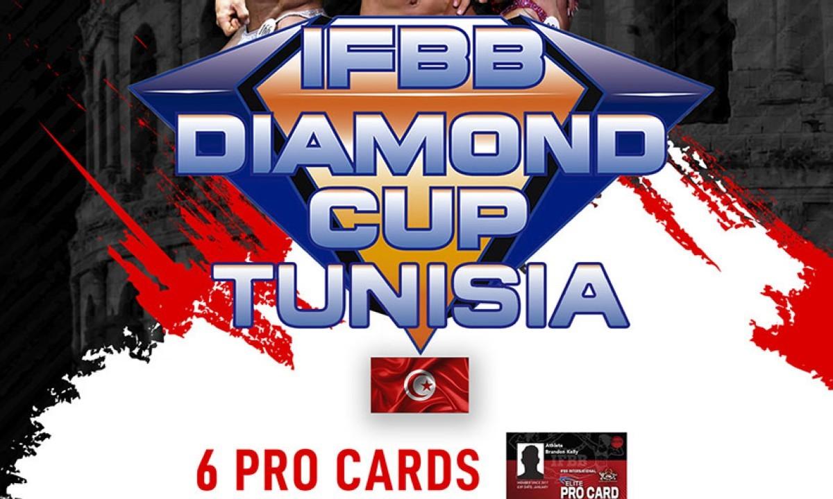 Inscripciones habilitadas para el IFBB Diamond Cup Tunisia