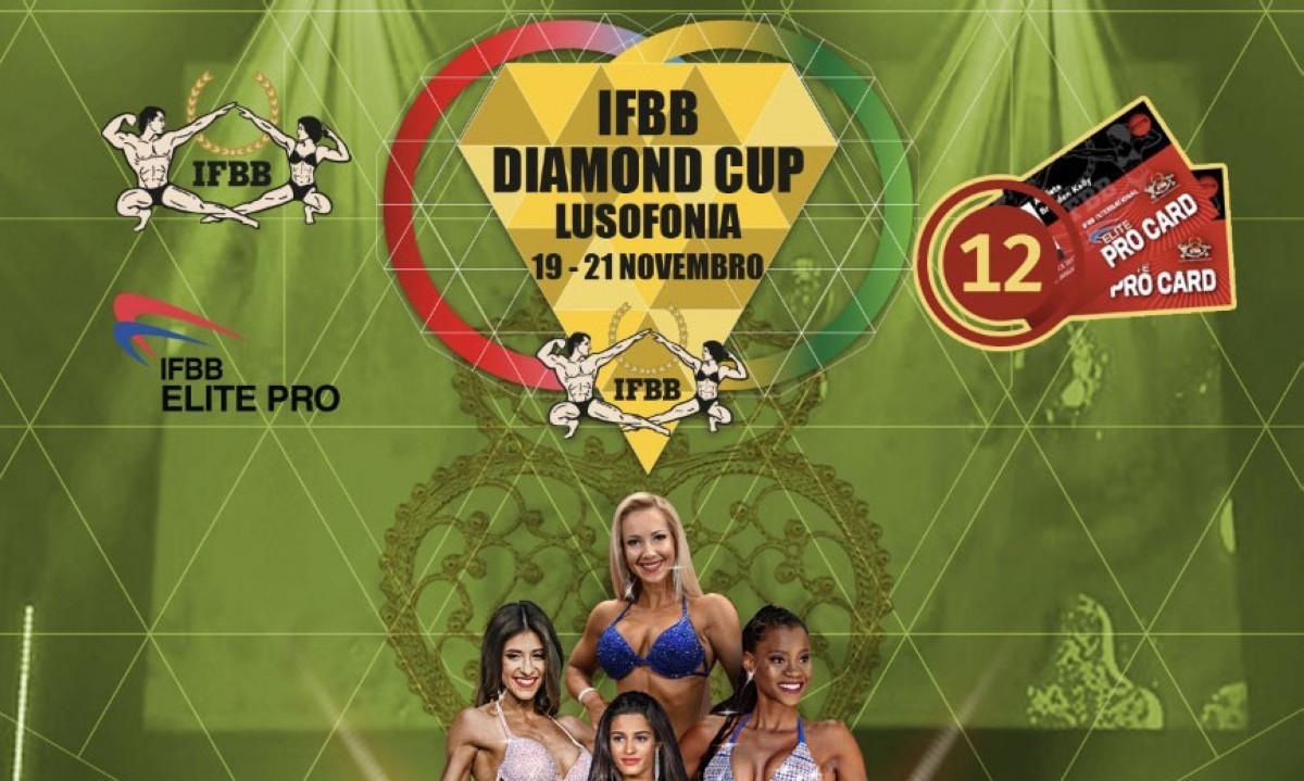 Inscripciones habilitadas para el IFBB Diamond Cup Lusofonia- Portugal