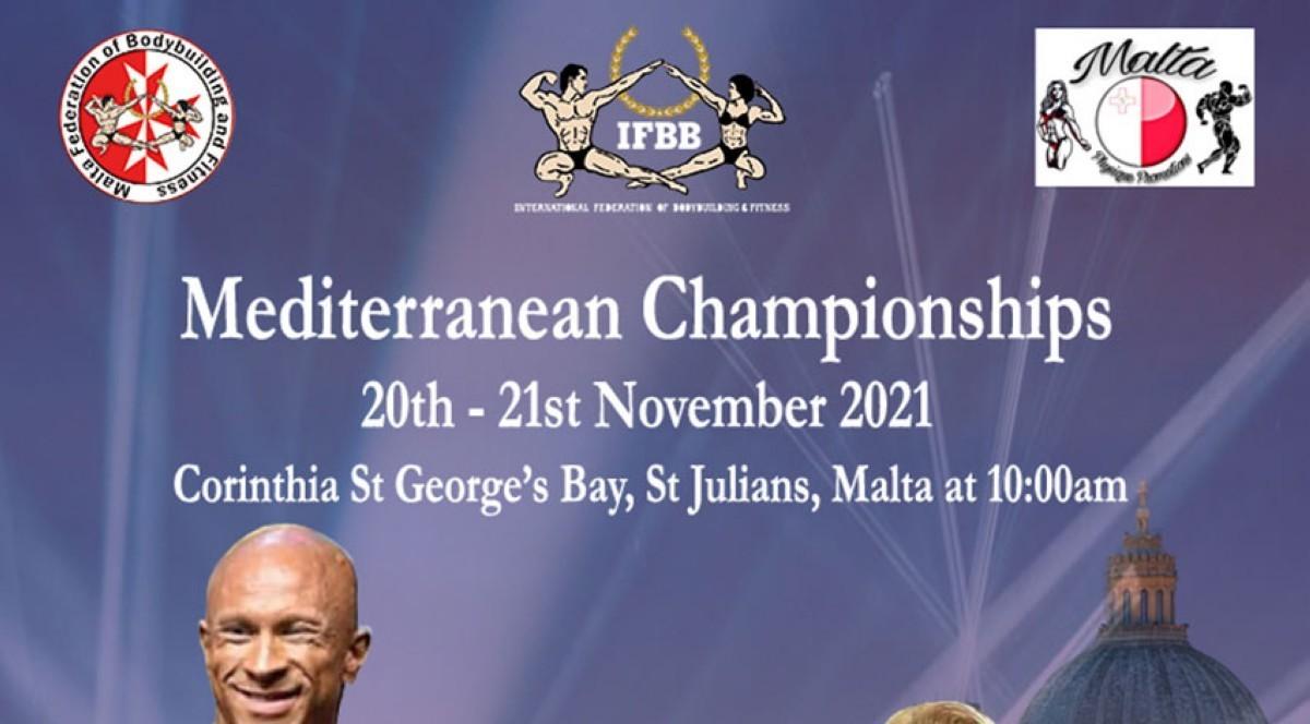 Inscripciones habilitadas para el IFBB Mediterranean Championship- Malta