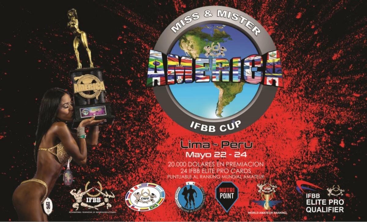 Inscripciones a Miss & Mister América IFBB CUP
