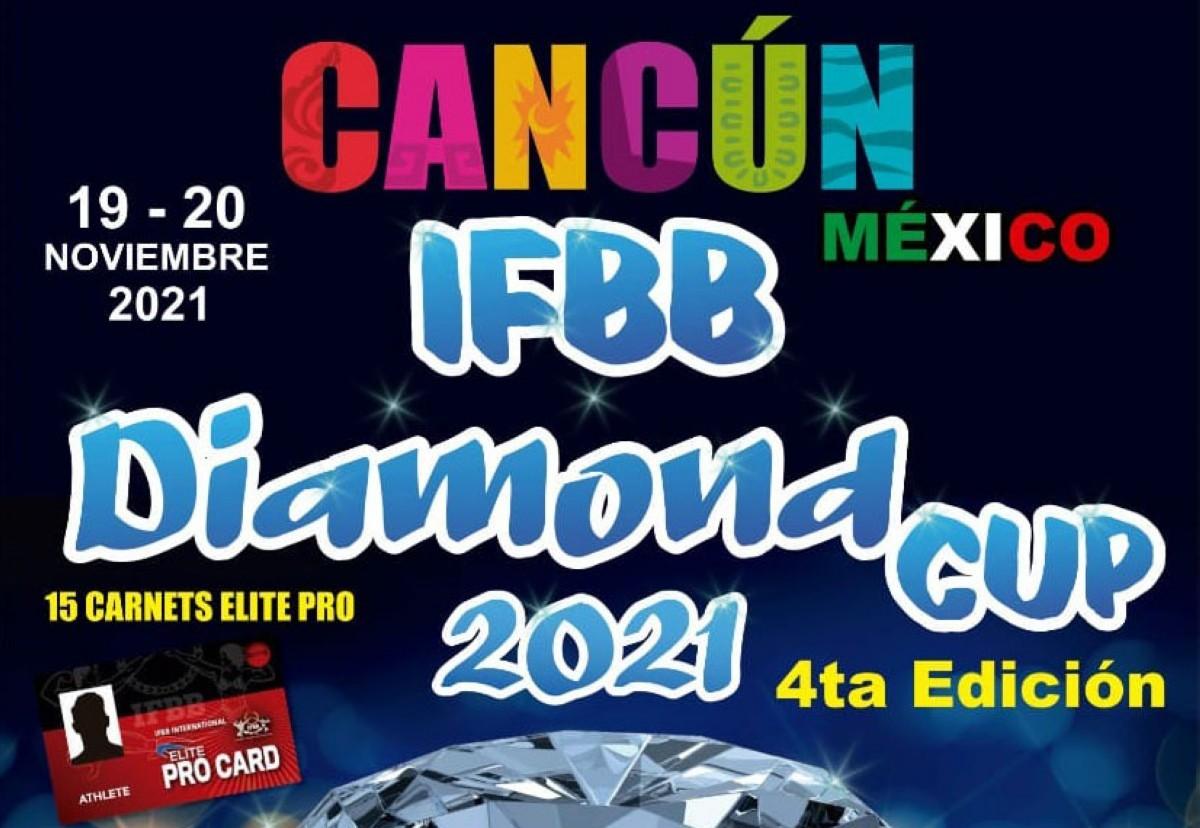 Insripciones abiertas para el IFBB Diamond Cup Cancún