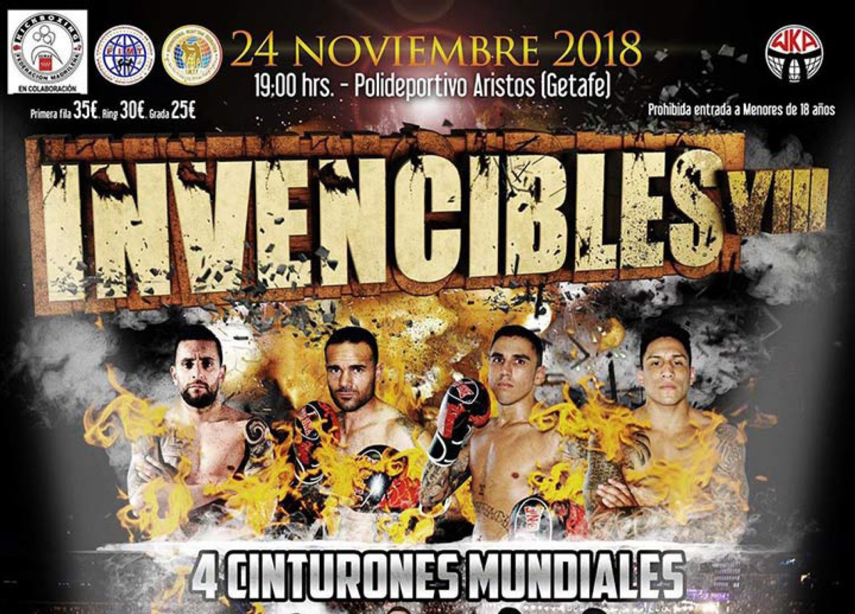 Invencibles VIII (Muay Thai y Kickboxing)