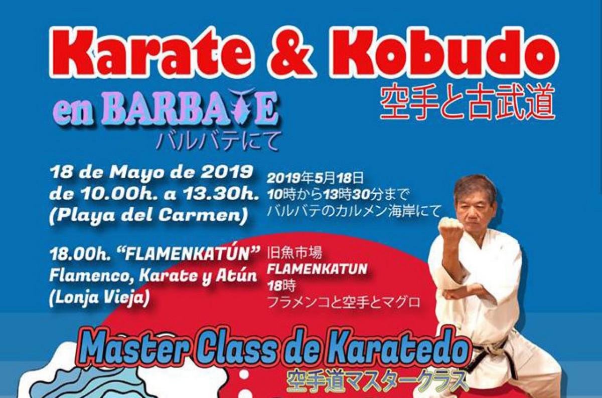 Karate y Kobudo en Barbate