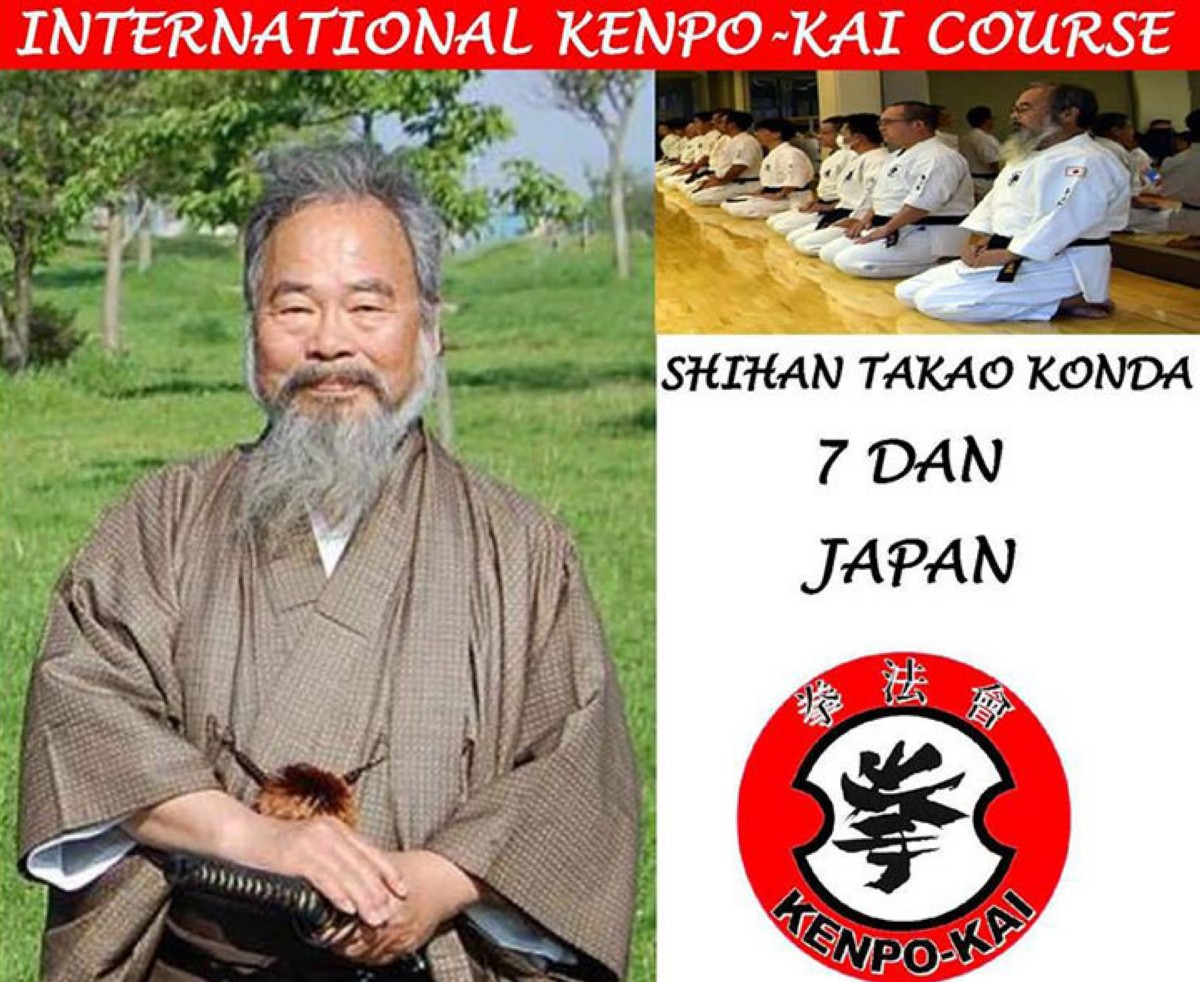Kenpo-Kai, curso internacional en Madrid