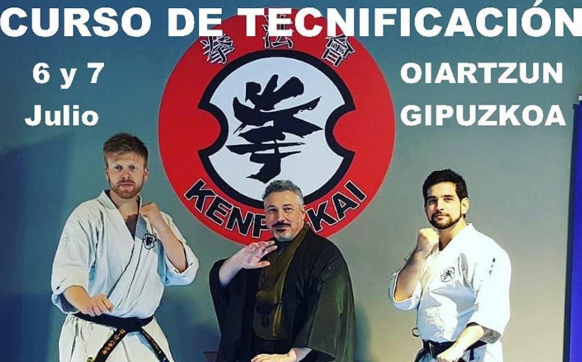 KENPO KAI, curso de tecnificación