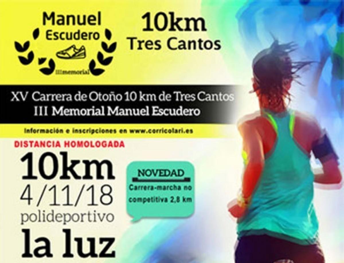 La 15 edición de la 10 Km Tres Cantos