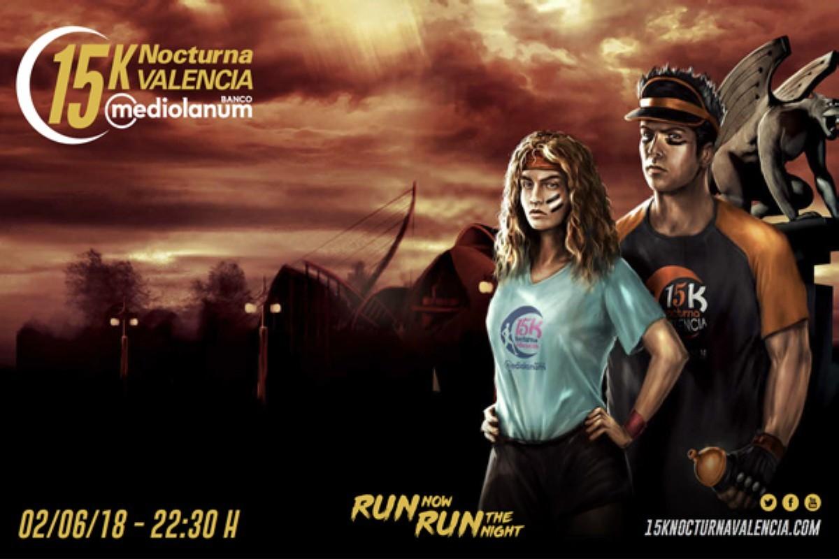 La 15K Nocturna Valencia Banco Mediolanum ha creado el reto virtual