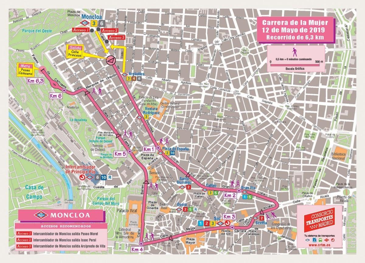 La Carrera de la mujer de Madrid el 12 de Mayo