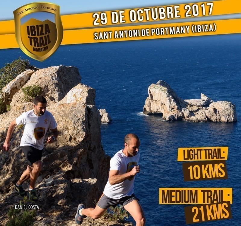 La Ibiza Trail Maratón con tres formatos