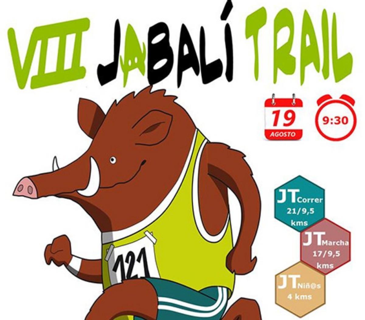 La Jabalí Trail 2018 Media Maratón de montaña