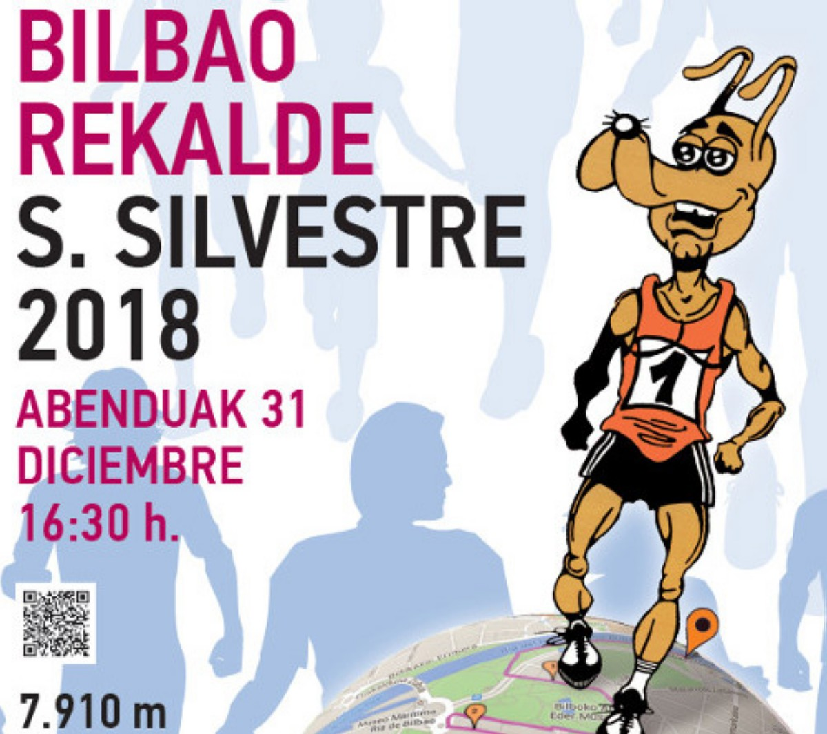 La San Silvestre Bilbao Rekalde 2018
