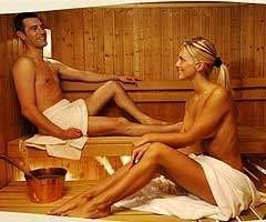 La Sauna favorece la transpiración