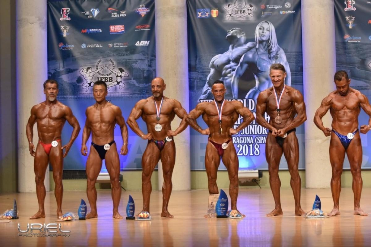La Seleccion Española en modalidades Master cosecha 17 medallas