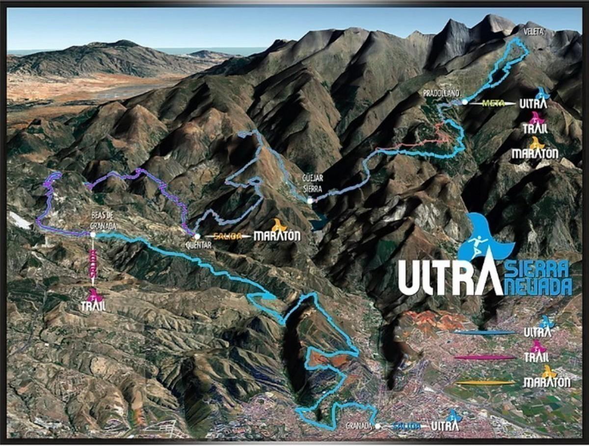 La Ultra Trail Sierra Nevada pasa a Noviembre