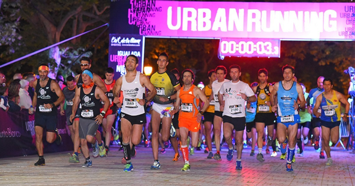 La VII Igualada Urban Running Night Show 2018