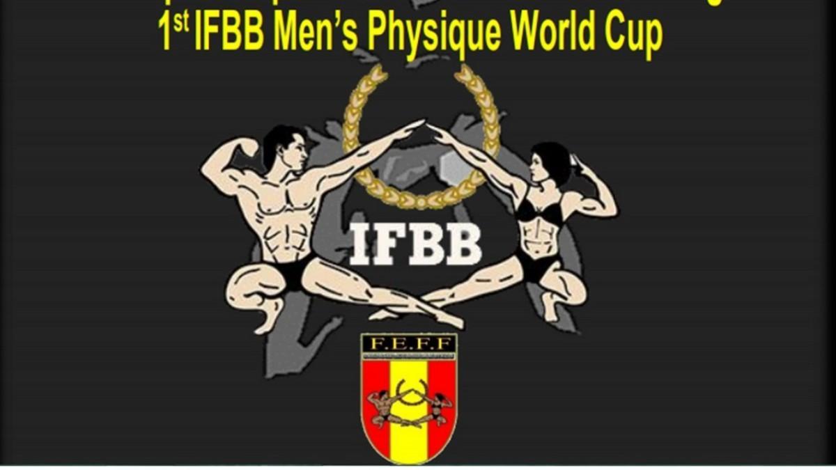 Listado para el Mundial de Fitness masculino en Benidorm