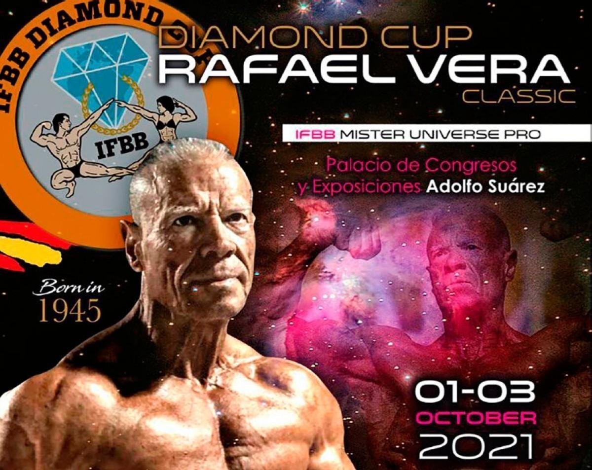 Listado IFBB Diamond Cup Rafael Vera Classic